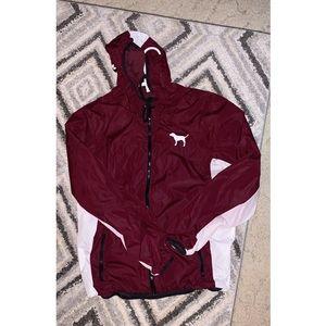 VS Pink rain jacket!